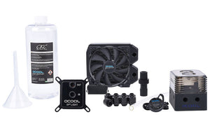ENFRIAMIENTO LIQUIDO ALPHACOOL KIT EISSTRUM GAMING COPPER 30 120MM