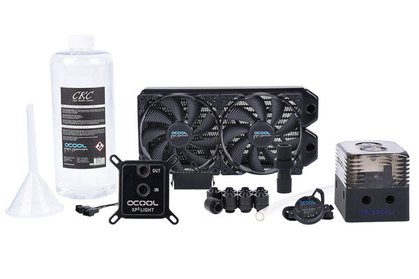 ENFRIAMIENTO LIQUIDO ALPHACOOL KIT EISSTRUM GAMING COPPER 30 240MM