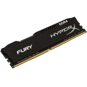 MEMORIA KINGSTON UDIMM DDR4 4GB 2400MHZ HYPERX FURY BLACK CL15 288PIN 1.2V HX424C15FB-4