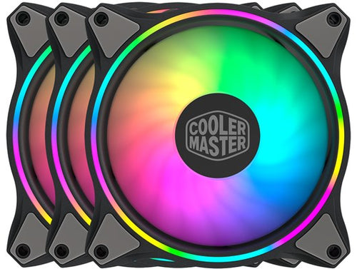 VENTILADOR COOLER MASTER KIT 3IN1 MF120 HALO RGB MFL-B2DN-183PA-R1