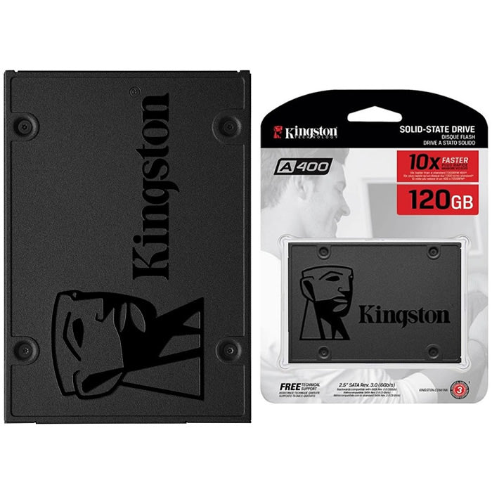 UNIDAD DE ESTADO SOLIDO SSD KINGSTON A400 120GB 2.5 SATA3 7MM SA400S37/120G