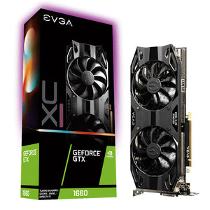 TARJETA DE VIDEO EVGA GEFORCE GTX 1660 XC ULTRA GAMING  06G-P4-1167-KR