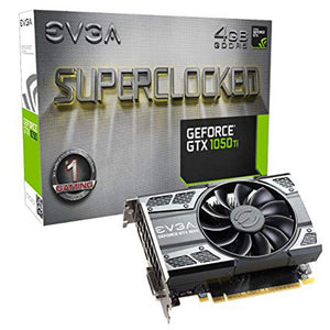 TARJETA DE VIDEO EVGA GTX 1050TI SC GAMING 4GB/DDR5/128BIT 04G-P4-6253-KR