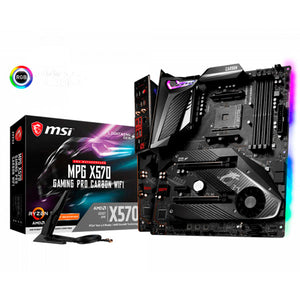 TARJETA MADRE MSI MPG X570 GAMING PRO CARBON WIFI 3ERA GEN AM4 4xDDR4 ATX