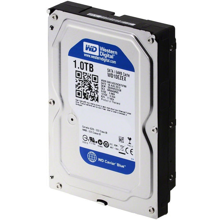 DISCO DURO WD BLUE 3.5 1TB SATA3 6GB S 64MB 7200RPM WD10EZEX