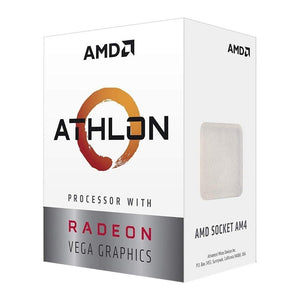 PROCESADOR AMD ATHLON 220GE S-AM4 35W 3.4 GHZ CACHE 5 MB 2CPU 3GPU RADEON VEGA 3 YD220GC6FBBOX