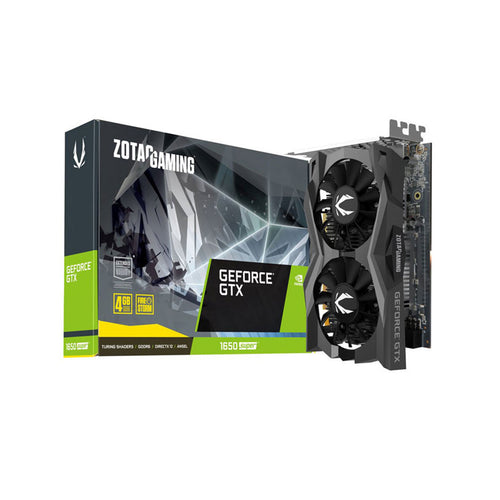 TARJETA DE VIDEO ZOTAC GTX 1650 SUPER 4GB GDDR6 128BIT ZT-T16510F-10L