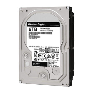 DISCO DURO WD BLACK 3.5 6TB SATA3 6GB/S 256MB 7200 RPM WD6003FZBX