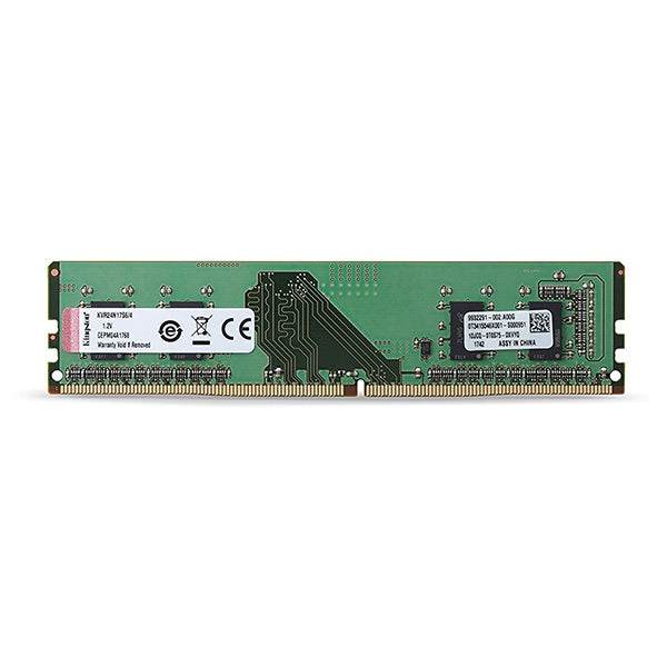 MEMORIA KINGSTON UDIMM DDR4 4GB PC4-2400MHZ VALUERAM CL17 288PIN 1.2V KVR24N17S6-4