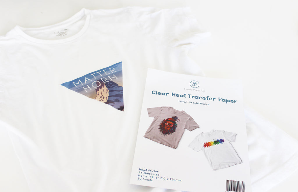 heat transfer paper, how to use heat transfer paper