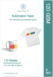 Hayes paper co, Hayes sublimation paper, sublimation paper, sublimation instructions, sublimation products