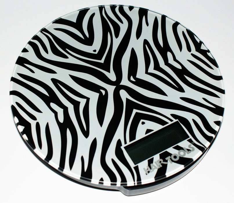 Hair Tools - Measure Scales Zebra