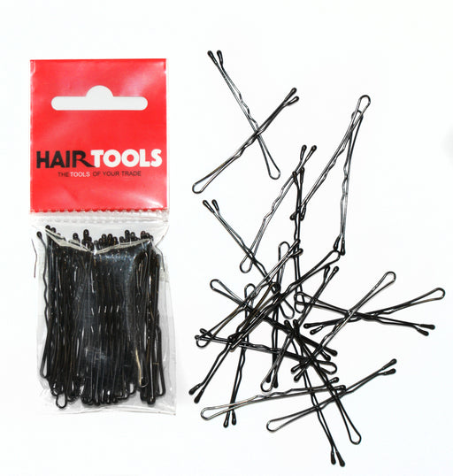 "Hair Tools - 2"" Waved Grips Black Box of 50"
