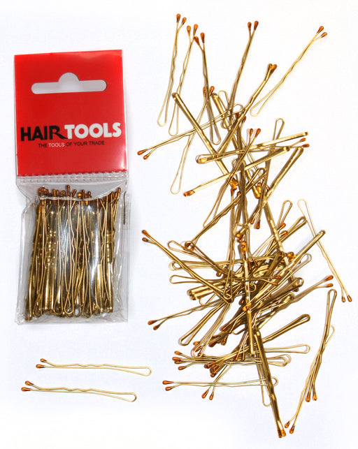 "Hair Tools - 2"" Waved Grips Blonde Box of 50"