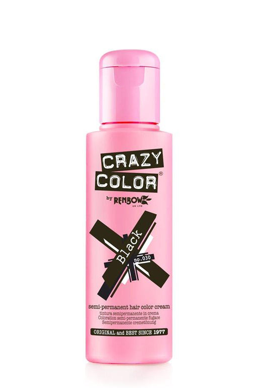 Crazy Color - 30 Black 100ml