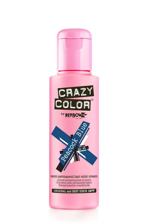 Crazy Color - 45 Peacock Blue 100ml