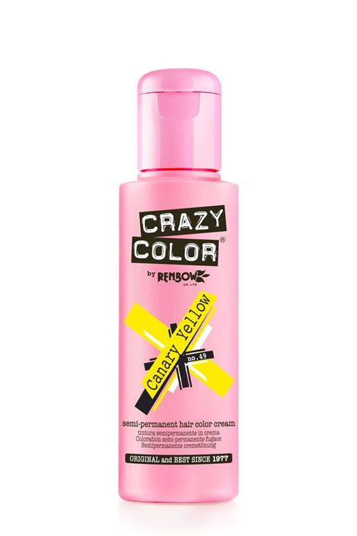 Crazy Color - 49 Canary Yellow 100ml