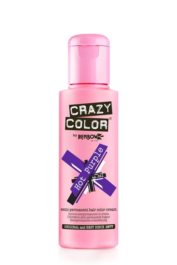 Crazy Color - 62 Hot Purple 100ml