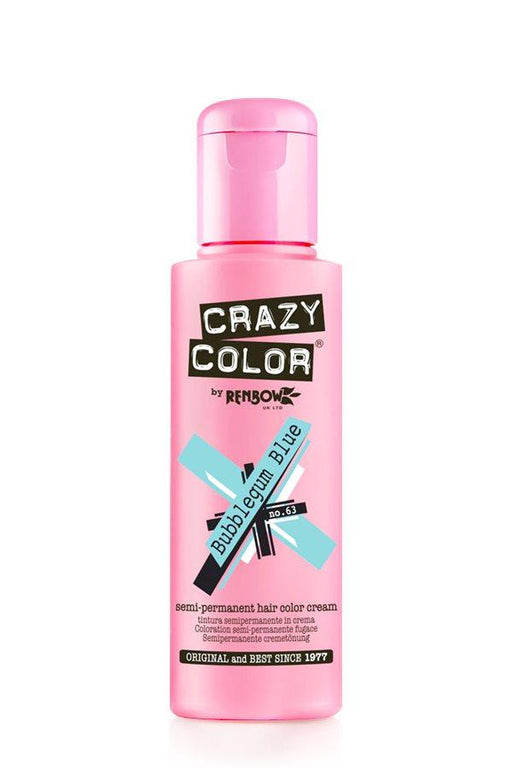 Crazy Color - 63 Bubblegum Blue 100ml