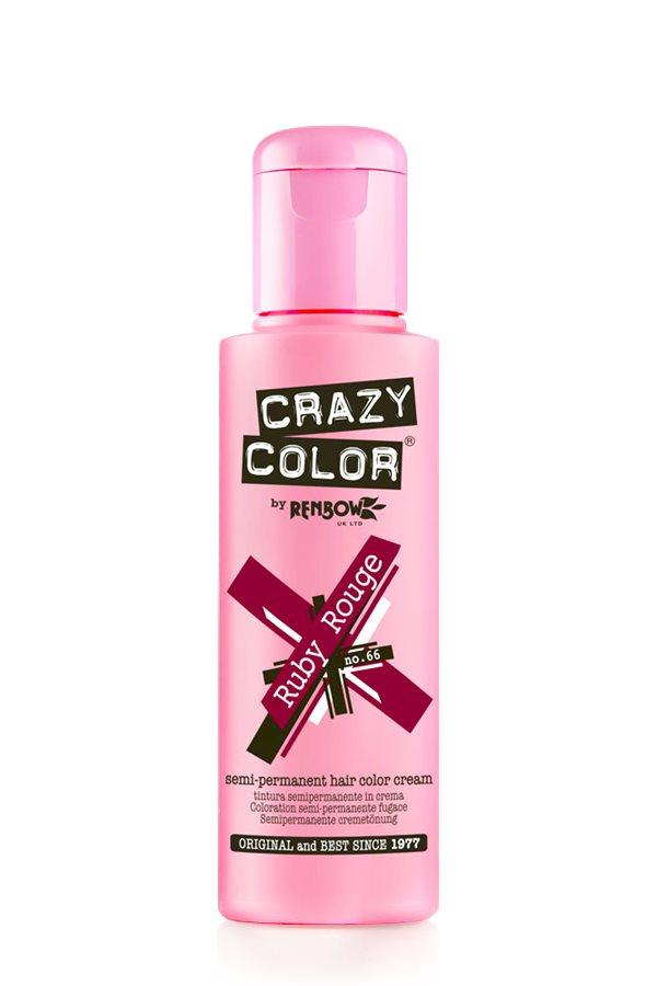 Crazy Color - 66 Ruby Rouge 100ml