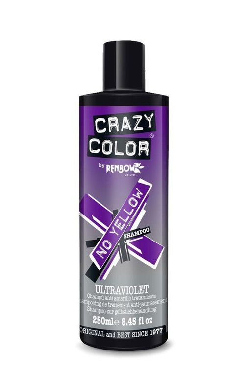 Crazy Colour - Ultraviolet No Yellow Shampoo 250ml