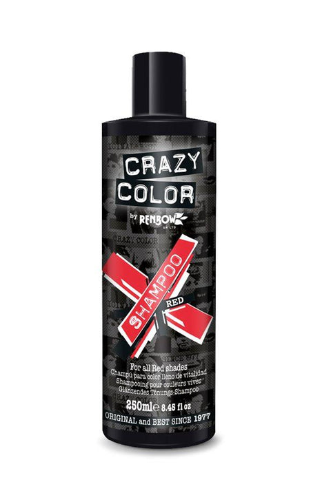 Crazy Colour - Vibrant Colour Shampoo Red 250ml