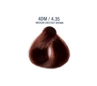 Colorissimo 100ml Hair Dye - Medium Chestnut Brown 4.35
