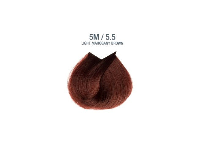 Colorissimo 100ml Hair Dye - Light Mahogany Brown 5.5