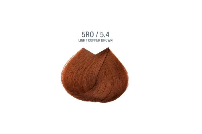 Colorissimo 100ml Hair Dye - Light Copper Brown 5.4
