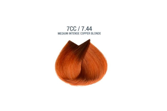 Colorissimo 100ml Hair Dye - Medium Intense Copper Blonde 7.44