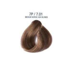 Colorissimo 100ml Hair Dye  - Medium Nordic Ash Blonde 7.01