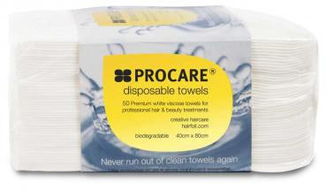 Procare - Disposable Towel 40cm x 80cm - White