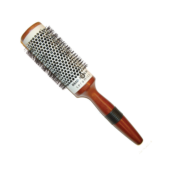 Head Jog 58 - 43mm Ceramic Wooden Radial Brush