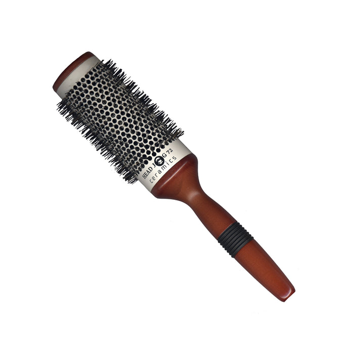 Head Jog 72 - 53mm Ceramic Wooden Radial Brush
