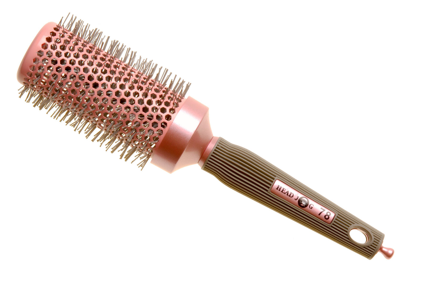 Head Jog 78 - 43mm Pink Ceramic Ionic Radial Brush