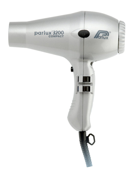 Parlux 3200 1900w Compact Hair Dryer - Silver