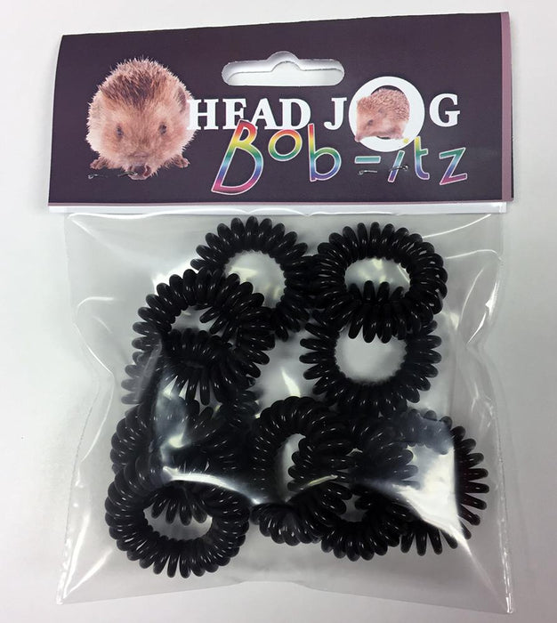 Head Jog - Bob-Itz Black Pack of 10