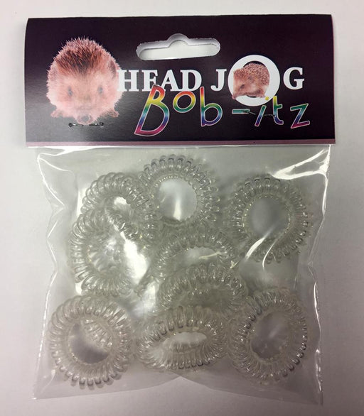 Head Jog - Bob-Itz Clear Pack of 10