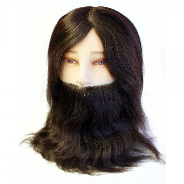 Hair Tools - Gents Training Head With Beard
