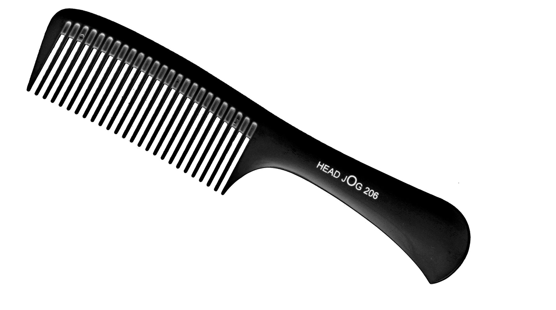 Head Jog 206 - Detangle Comb Black