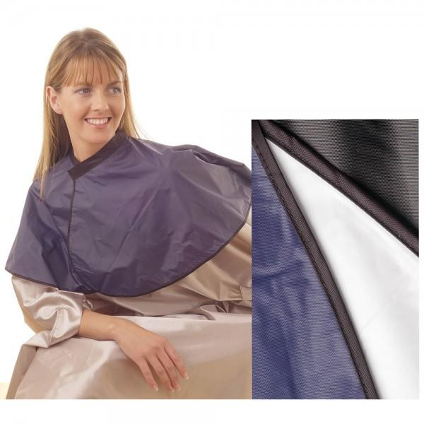Hair Tools - PVC Shoulder Cape Black