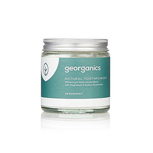 Natural Spearmint Whitening Toothpowder 120ml