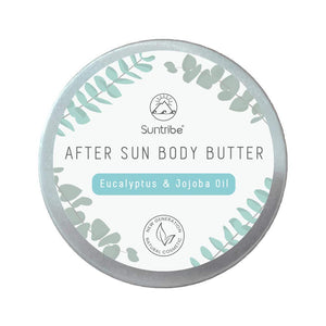150ml Organic Aftersun Body Butter Eucalyptus & Jojoba Oil