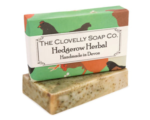 Handmade Comfrey Lavender & Nettle Natural Soap Bar 100g