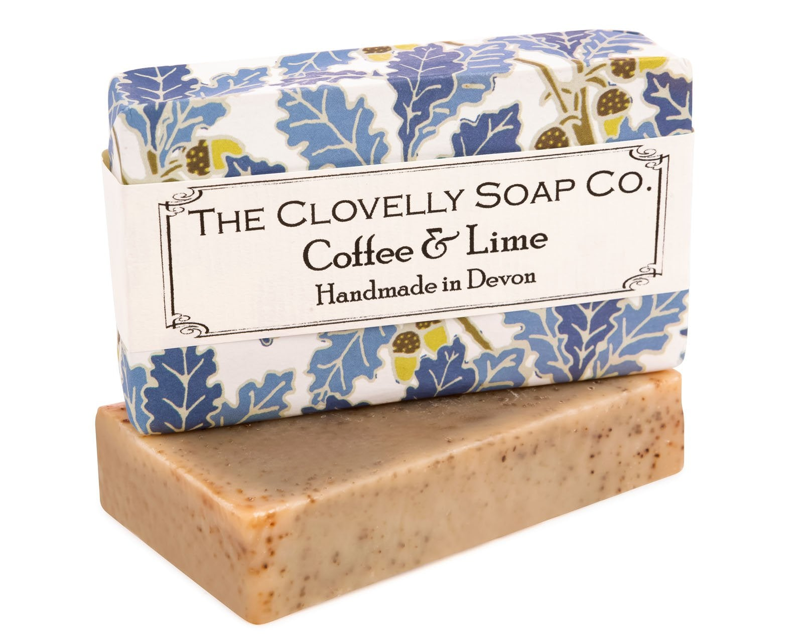 Handmade Coffee & Lime Natural Soap Bar 100g