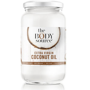 1 Litre Extra Virgin Coconut Oil - 100% Raw and Certified Organic