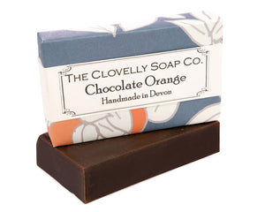 Handmade Chocolate Orange Natural Soap Bar 100g