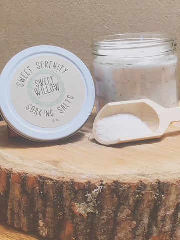 Sweet Serenity Soaking Salts