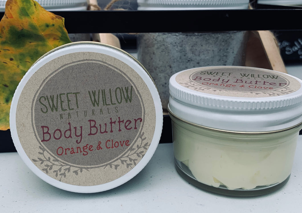 Orange & Clove Body Butter 2.5 oz