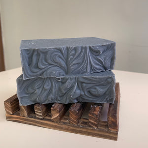 Handmade teatree charcoal soap for face and body